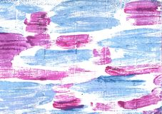 Fond abstrait d'aquarelle de yeux de bleus layette Photographie stock libre de droits