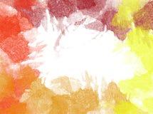Fond abstrait d'aquarelle Texture (de papier) froissée Images libres de droits
