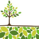Fond abstrait d'arbre Images stock