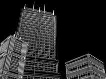 Fond abstrait d'architecture. Photographie stock