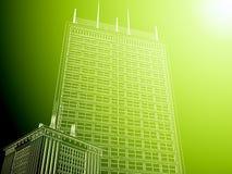 Fond abstrait d'architecture. Photo libre de droits