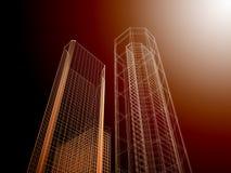 Fond abstrait d'architecture. Photos libres de droits