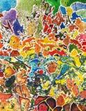Fond abstrait d'art Image libre de droits