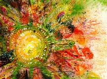 Fond abstrait d'art Illustration de Vecteur
