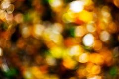 Fond abstrait d'automne Photos libres de droits