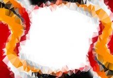 Fond abstrait d'automne Autumn Maple Leaves et Sun illustration de vecteur