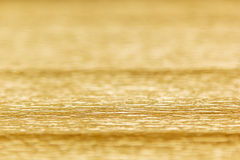 Fond abstrait d'or avec la tache floue Images libres de droits