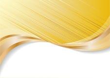 Fond abstrait d'or de vecteur illustration libre de droits