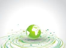 Fond abstrait d'eco Photo stock