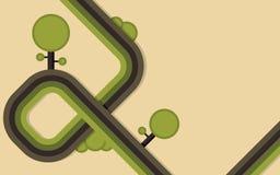 Fond abstrait d'Eco illustration libre de droits