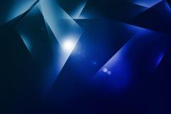 Fond abstrait d'effet de la lumière Photographie stock libre de droits