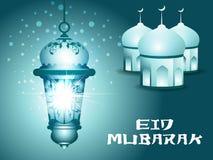 Fond abstrait d'eid Image libre de droits