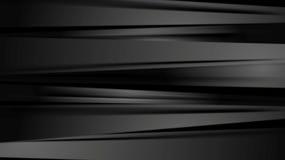Fond abstrait d'entreprise de rayures lisses noires illustration stock