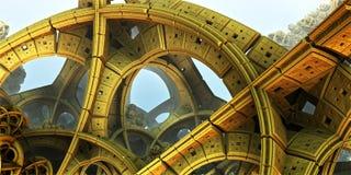 Fond abstrait 3D fantastique illustration de vecteur