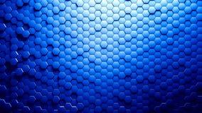 Fond abstrait d'hexagones Images libres de droits