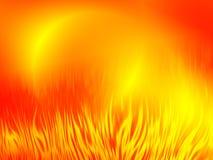 Fond abstrait d'incendie Image libre de droits
