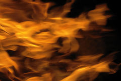 Fond abstrait d'incendie Photo stock