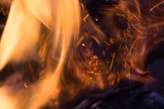 Fond abstrait d'incendie photos stock