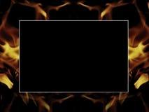 Fond abstrait d'incendie de tache floue Images stock