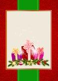 Fond abstrait d'invitation de Noël de beauté. illustration de vecteur