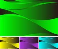 Fond abstrait d'ondulation Image libre de droits