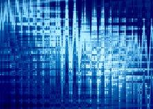 Fond abstrait dans des couleurs bleues Images stock