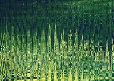 Fond abstrait dans des couleurs vertes Photo libre de droits
