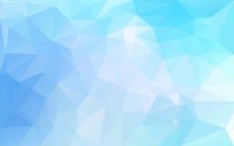 Fond abstrait dans des sons bleus illustration de vecteur