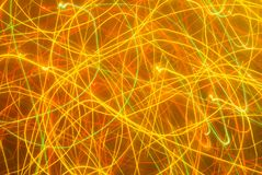 Fond abstrait dans des sons jaunes photo stock