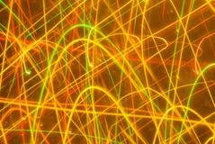 Fond abstrait dans des sons jaunes image stock