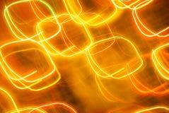 Fond abstrait dans des sons oranges et jaunes photographie stock libre de droits