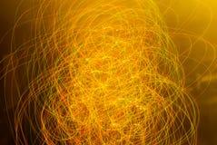 Fond abstrait dans des sons oranges et jaunes photographie stock