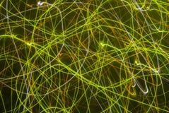 Fond abstrait dans des sons verts image libre de droits
