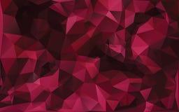 Fond abstrait dans des tons rouges illustration de vecteur