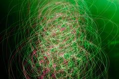 Fond abstrait dans des tons verts et roses images stock