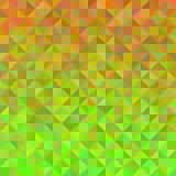 Fond abstrait dans l'orange et le vert illustration de vecteur