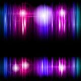Fond abstrait de bandes colorées Image stock