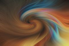 Fond abstrait de beaux-arts Modèle coloré multi de remous illustration de vecteur