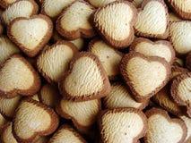 Fond abstrait de biscuits Images stock