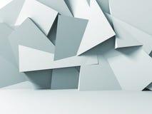 Fond abstrait de blanc de mur en pierre Photos stock