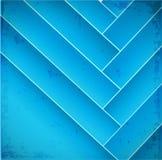 Fond abstrait de bleu de la géométrie Image stock