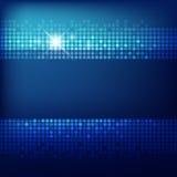 Fond abstrait de bleu de technologie illustration stock