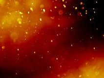 Fond abstrait de bokeh avec la couleur rouge de bulle Image stock