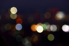 Fond abstrait de bokeh de tache floue Photo libre de droits