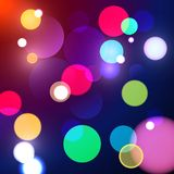 Fond abstrait de bokeh illustration stock