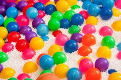 Fond abstrait de boules colorées Photographie stock libre de droits