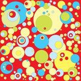 Fond abstrait de bulle Photo libre de droits
