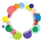 Fond abstrait de cercle illustration libre de droits