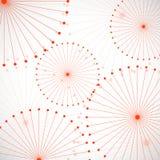Fond abstrait de cercle Image stock