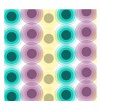 Fond abstrait de cercle de gradient illustration libre de droits